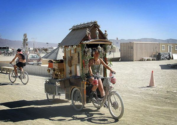 Burning Man...Bicycles, Craziness in the Desert...