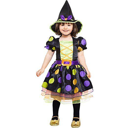 Baby-Hexe Halloween Kostüm Baby Kleinkind Mädchen | Kostüm Mädchen ...