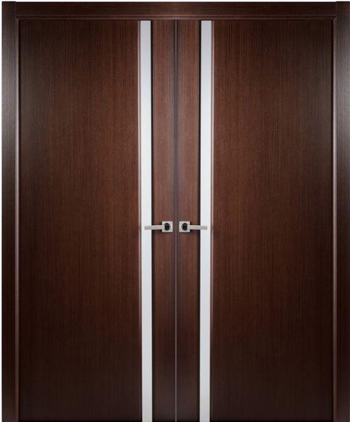 Contemporary Modern Interior Door 1 9 16 By Arrazzini In Double Door In Wood And The Grain Is Wenge Double Doors Interior Doors Interior Modern Double Doors