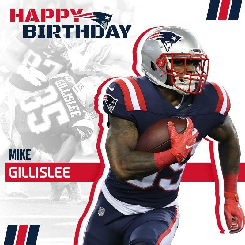 Happy Birthday Gillislee #RB #HaveADay #LetsGo