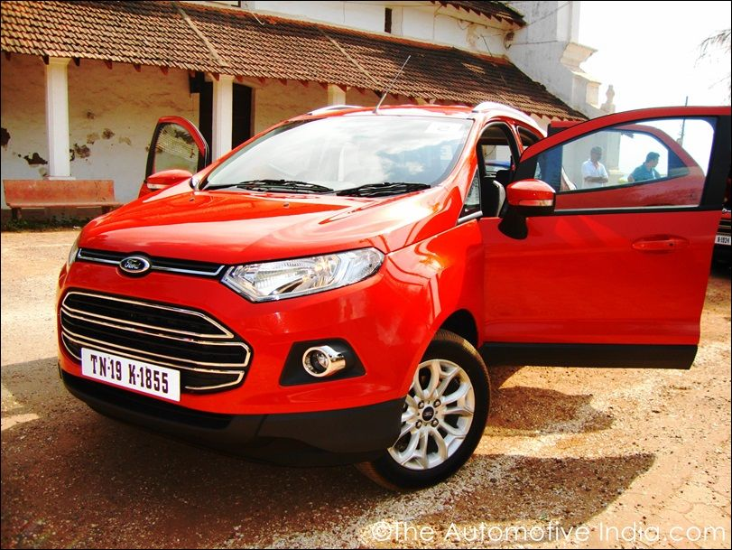 Ford Ecosport Review Synopsis Ford Ecosport Price Tag Is Between Rs 6 75 10 20 Lakh Ex Showroom Delhi It Officially Launched Ford Ecosport Ford Reviews