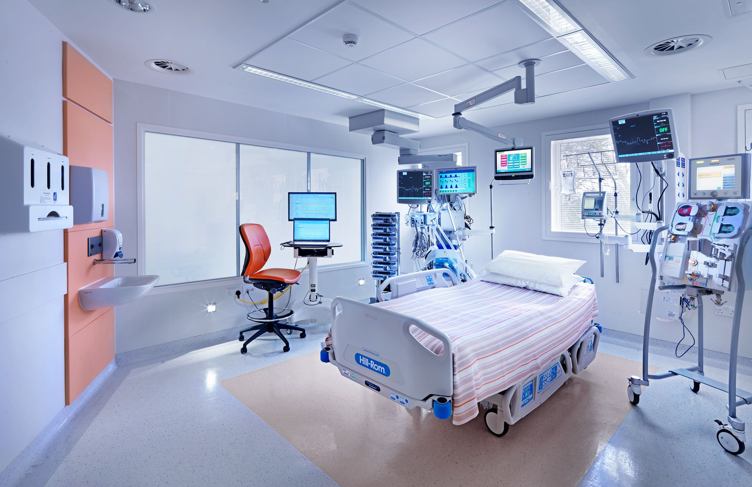 The Lister Hospital's Critical Care Unit is equipped with