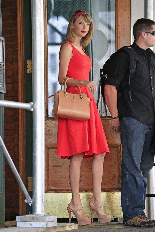 The Official Ranking Of Times Taylor Swift Left Her Tribeca Apartment In 2014