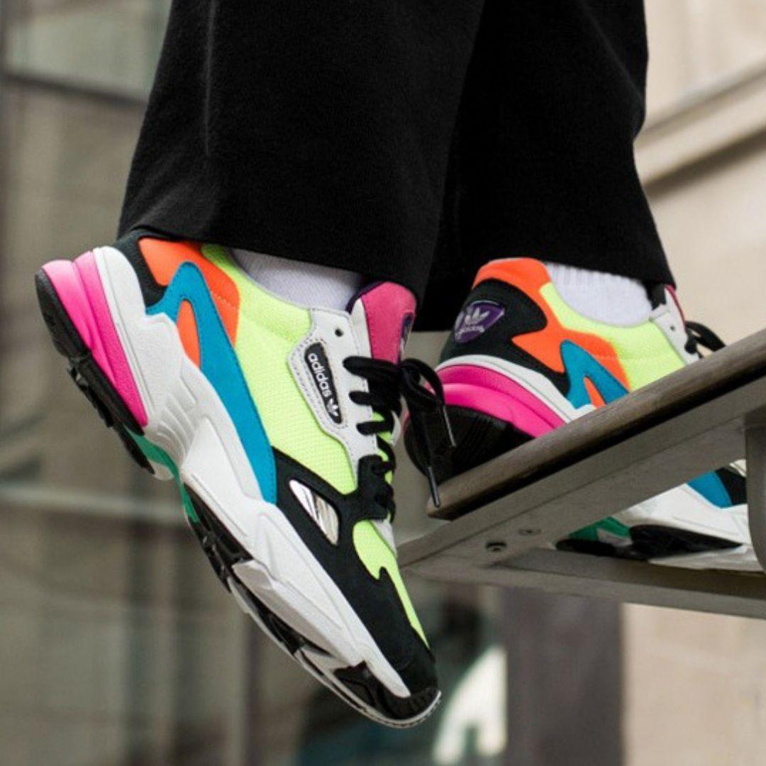 ZAPATILLAS FALCON W adidas | Adidas zapatillas mujer ...