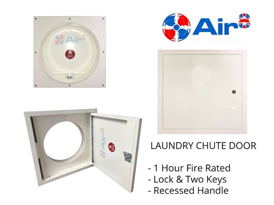 Laundry Chute Door 300mm 1 Hour Fire Rated Laundry Chute Chute