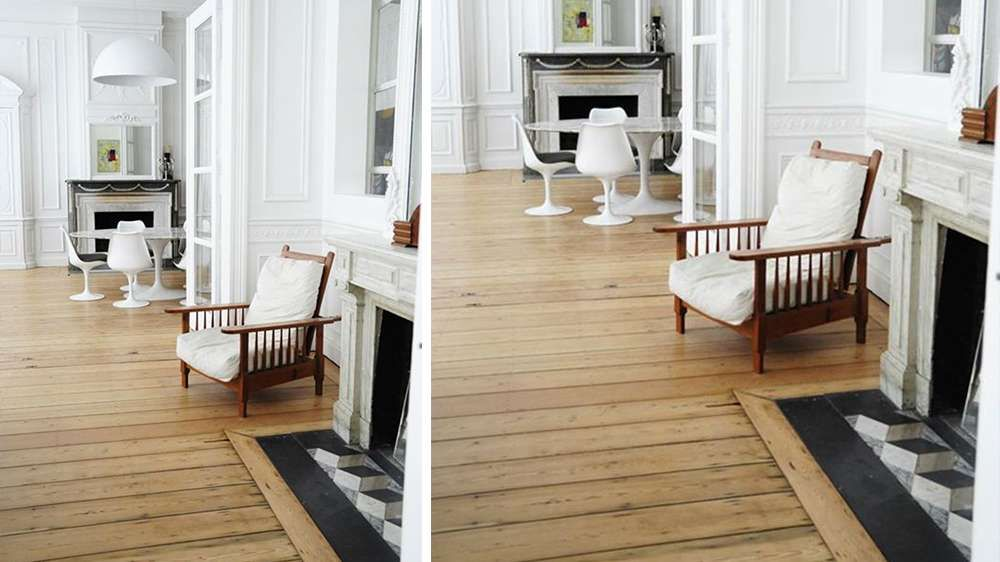 rev tement de sol salon parquet et carrelage chemin e salon pinterest carrelage parquet. Black Bedroom Furniture Sets. Home Design Ideas