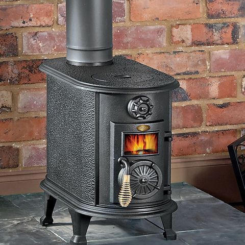 Clarke Thames Cast Iron Wood Burning Stove - Machine Mart - Machine Mart - Clarke Thames Cast Iron Wood Burning Stove - Machine Mart