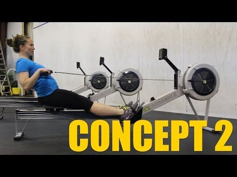 Why crossfit boxes have rowing machines and why the concept 2 rower