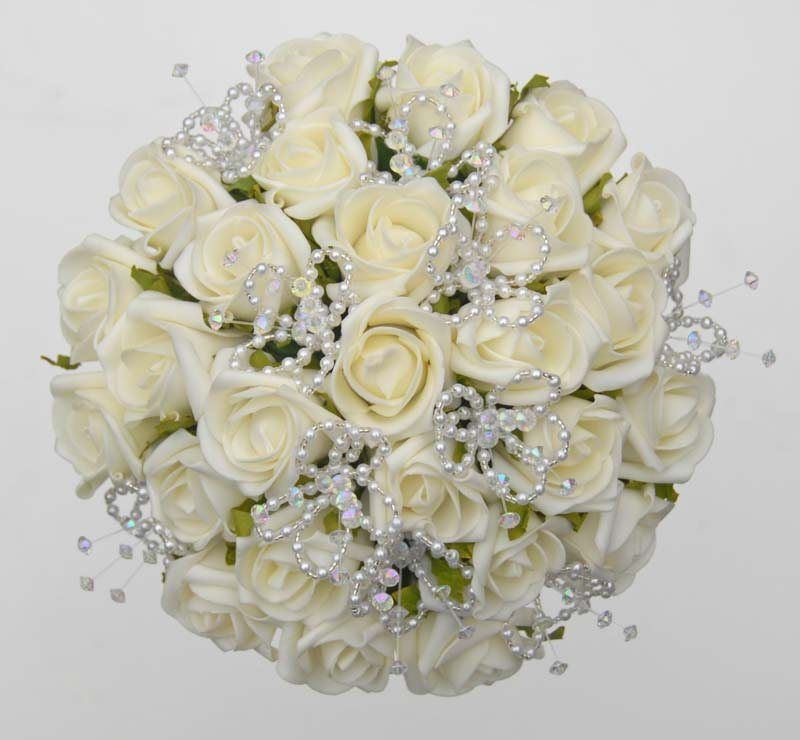 bouquets made with ivory flowers - Google Search | BOUQUETS ...
