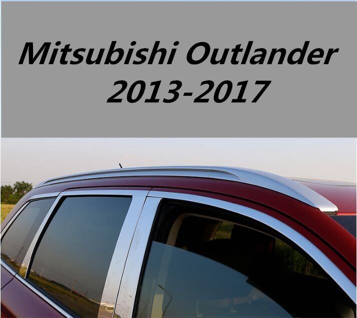 Car Aluminum Roof Rack Rail Baggage Luggage Cross Bar For 13 17 Mitsubishi Outlander 2013 2014 2015 20 Mitsubishi Outlander Mitsubishi Outlander 2013 Roof Rack