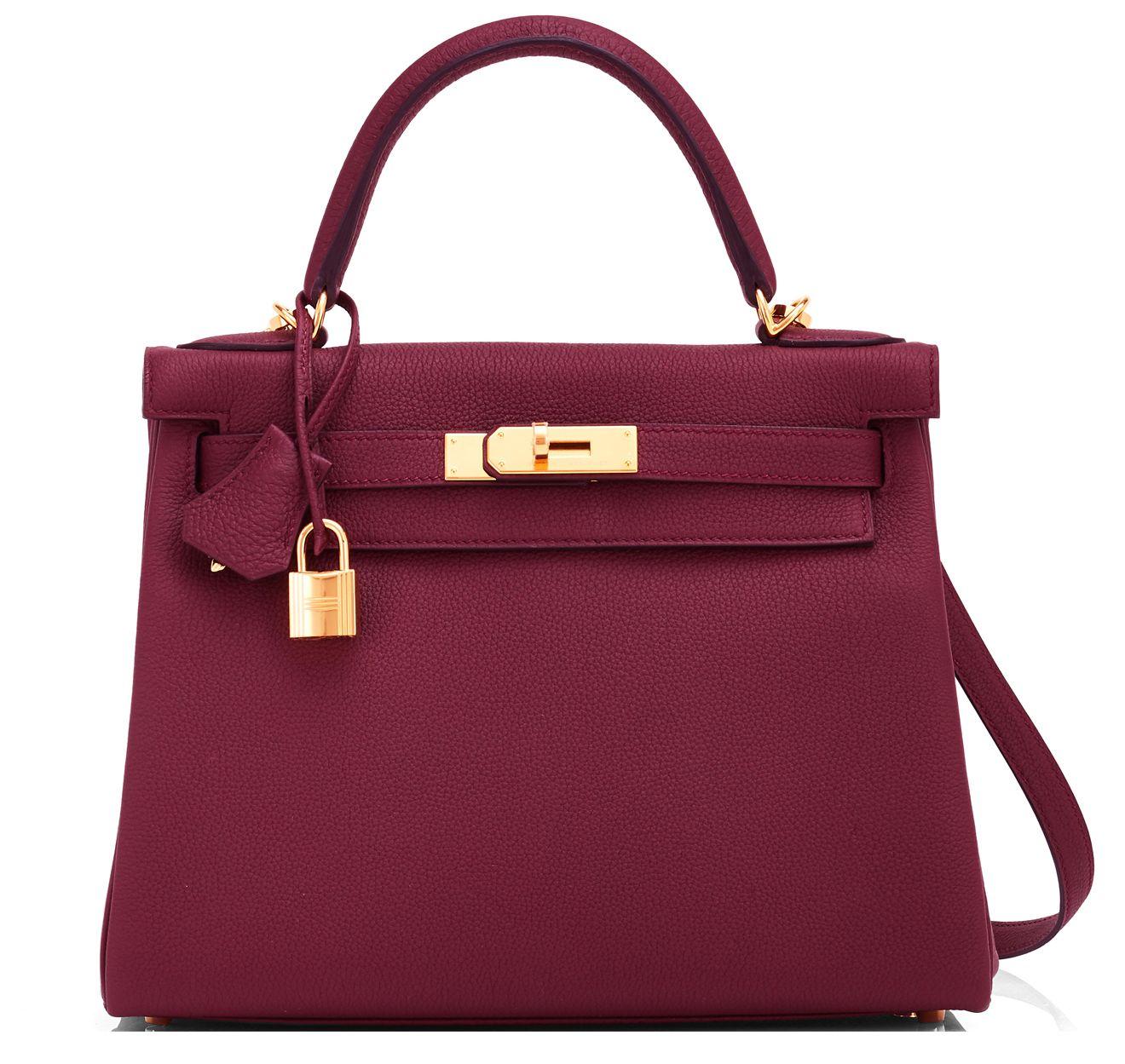 Hermes  Kelly  Bag Bordeaux Togo Gold Hardware   ! ♥ Fashion ... 8af5104279
