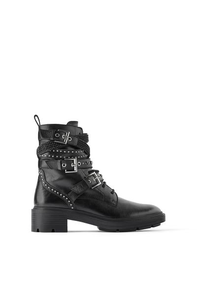 Cuple Leather Ankle Boots Black | Shoppa Online | Afound