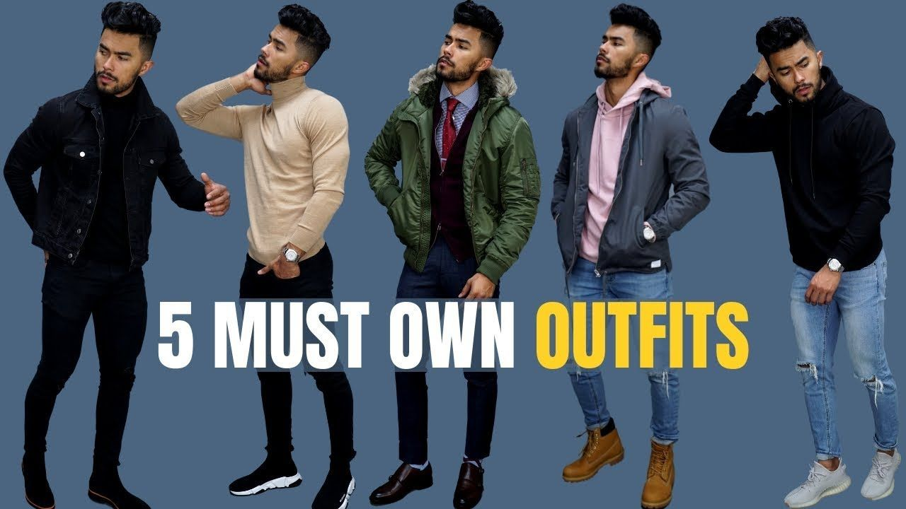 Top 5 Outfits Every Man Must Own Fall Winter Athleisure Outfits Winter Athleisure Outfits Summer Beach Cover Ups [ 720 x 1280 Pixel ]