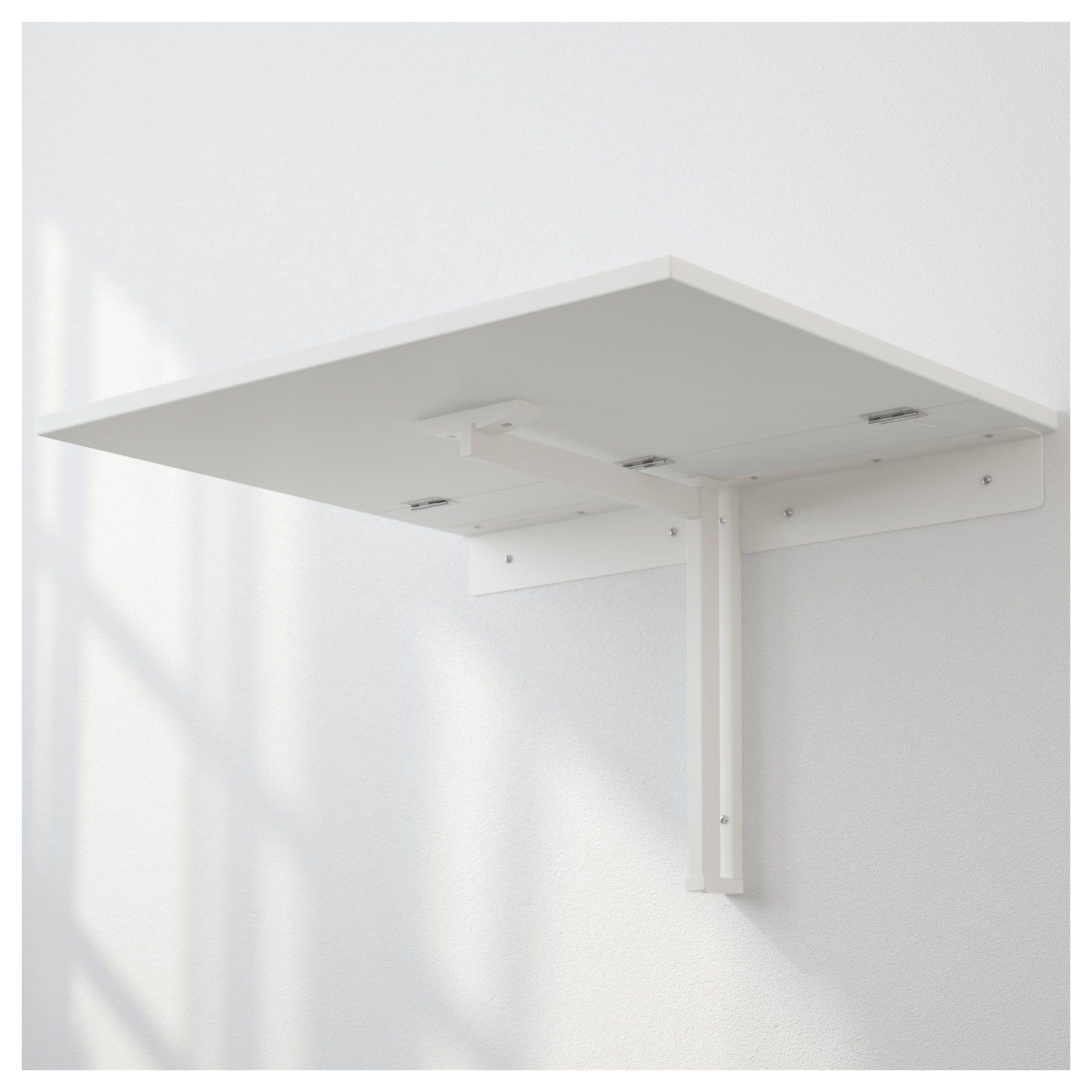 Tavolo A Parete Richiudibile Ikea.Cerniere Per Tavolo Pieghevole Con Norberg Tavolo