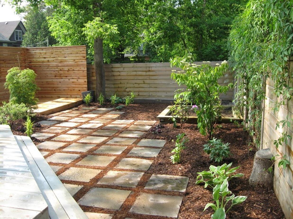 42 Cheap But Beautiful Mulch Landscaping Ideas | Small ... on Cheap Backyard Ideas No Grass  id=66038