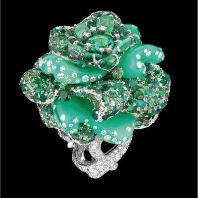Dior Bal de Rose green