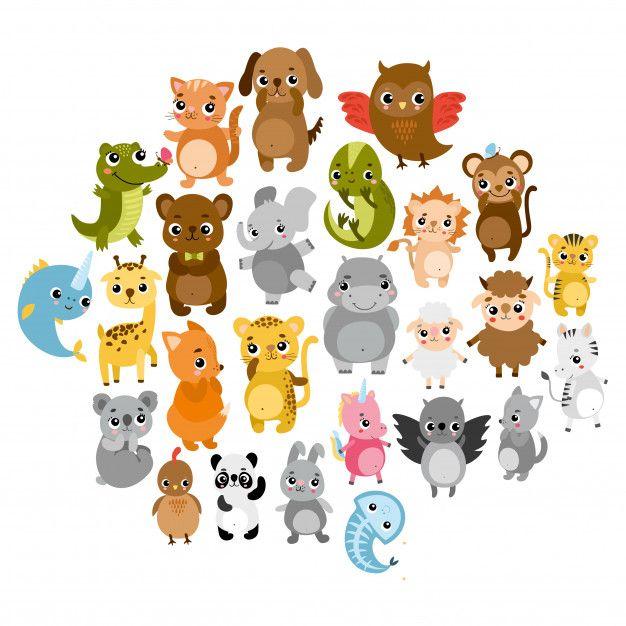 Download Cute Zoo Animals For Free Zoo Animals Animals Cartoon Animal Vector