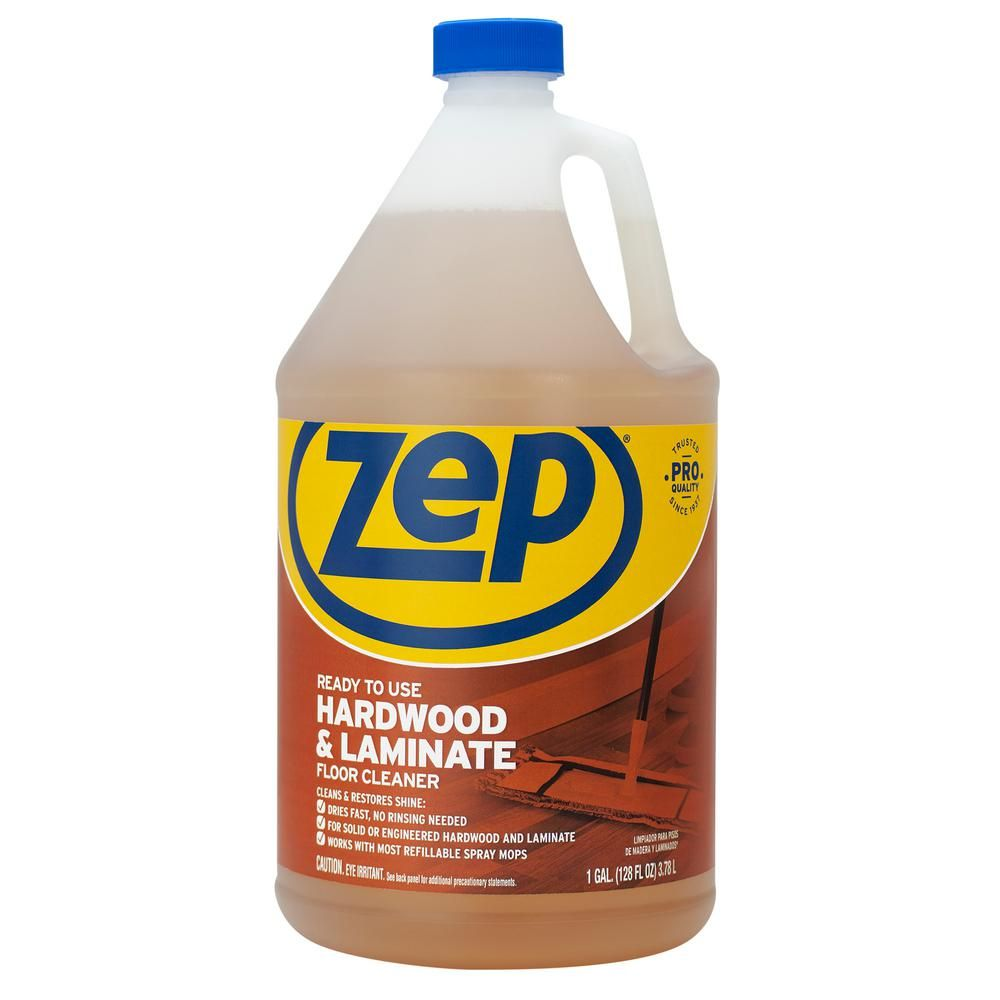 Zep 1 Gallon Hardwood And Laminate Floor Cleaner Laminate Flooring Floor Cleaner