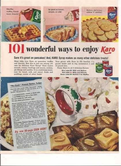 recipe: fudge made with karo syrup [28]