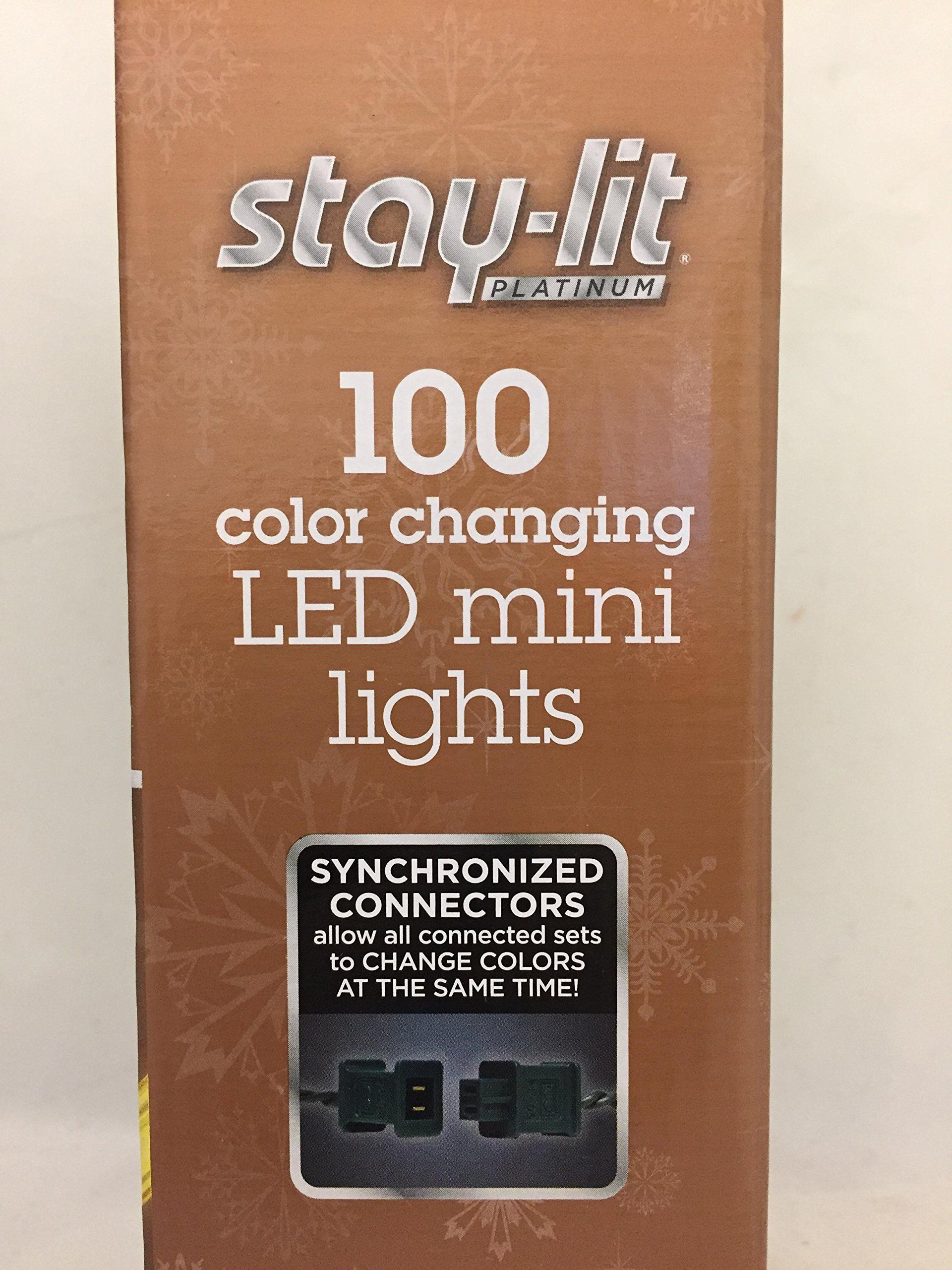 Sylvania Christmas Lights Function Color Changing Warm White Multi Color Connectable Led Mini Lights  Box  Count Look Into The Picture By