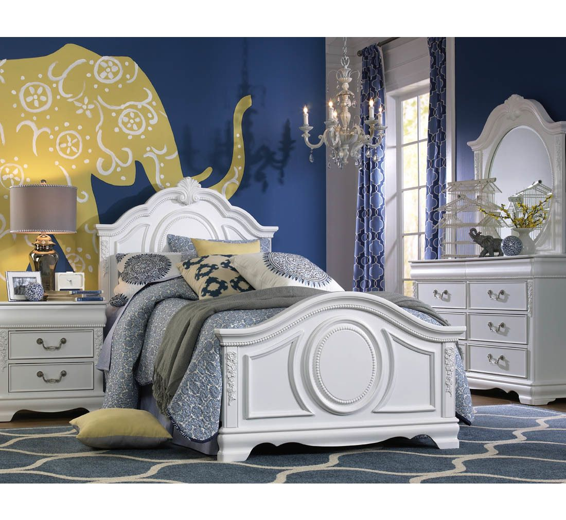 Grace 5pc Youth Twin Bedroom Group Badcock More With Images