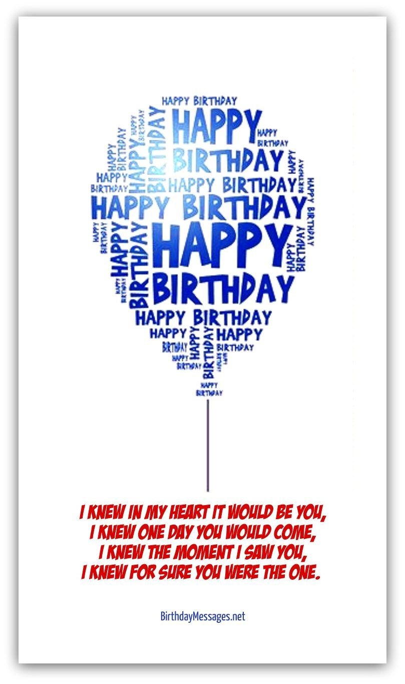 Romantic Birthday Poems Page 2 Birthday Cards Pinterest