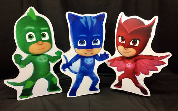 2423eb83db PJ Masks characters Party Prop, Cut-outs, kids characters | Products ...