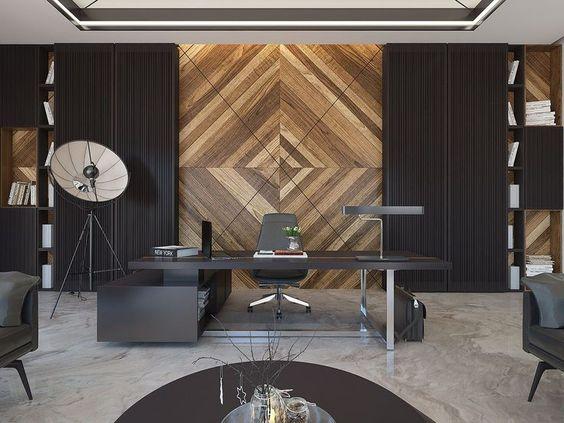Best 75 Modern Office Interiors Ideas Small Office Design