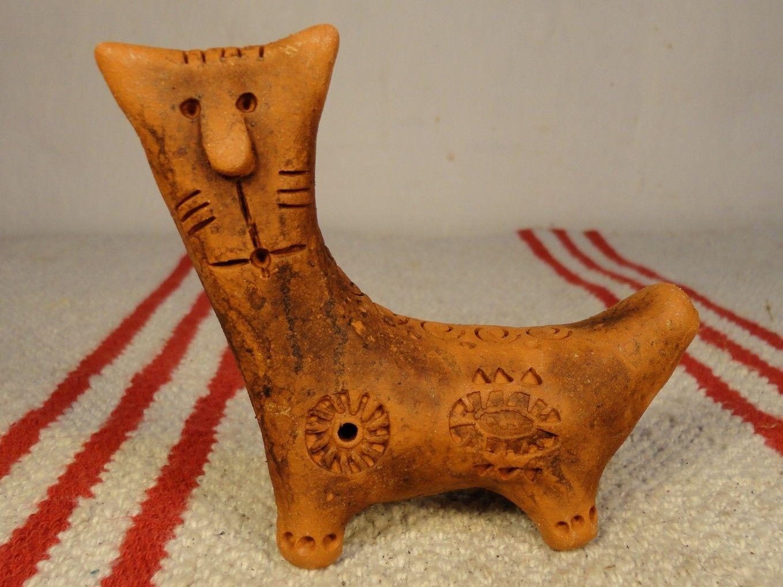 кот свистулька ocarina гончарная мастерская Ивана