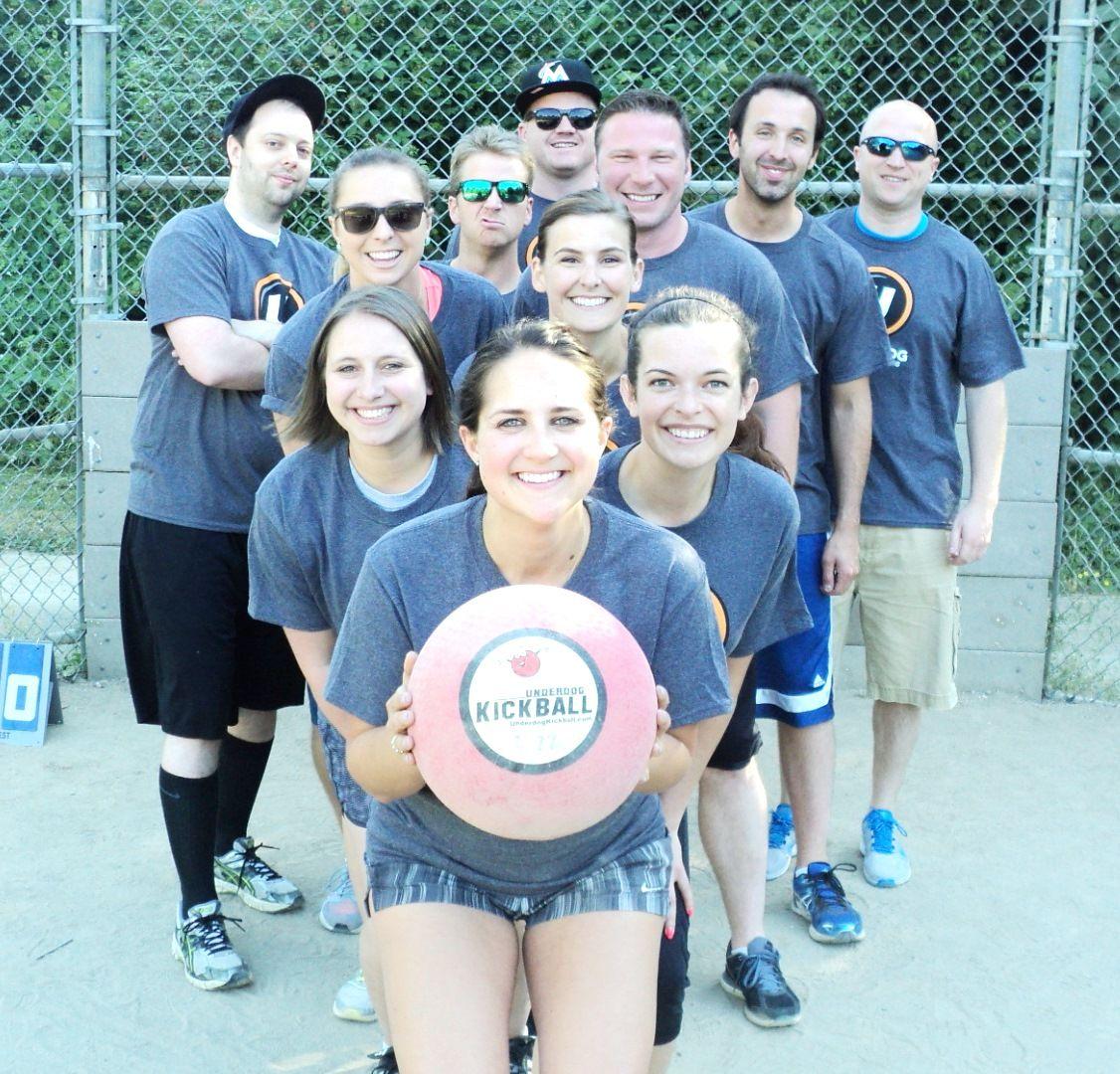 Kickball Kickball About Underdog Sports Leagues Seattle Seattle Wa Kickball Tournament League Sports