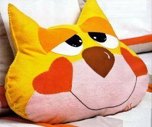 Подушка кот своими руками: выкройки, фото идеи, видео мастер 4