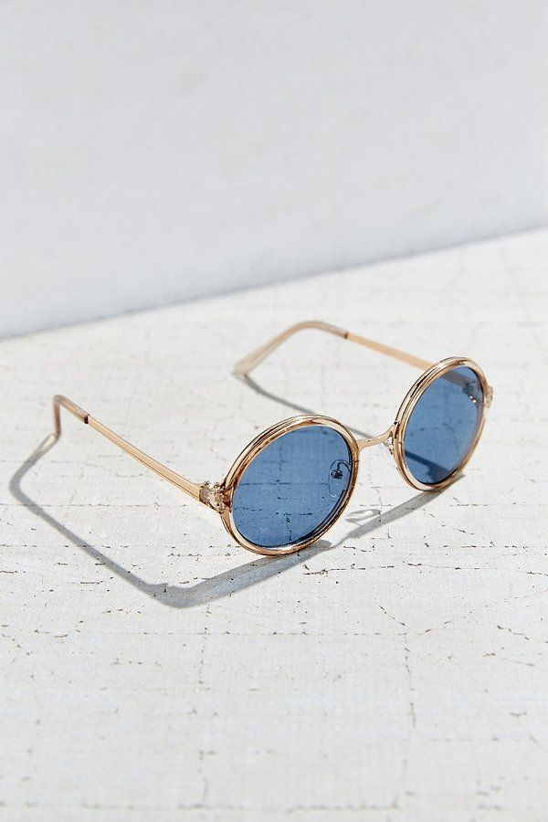 Urban Outfitters Both Worlds Round Sunglasses - ShopStyle Women
