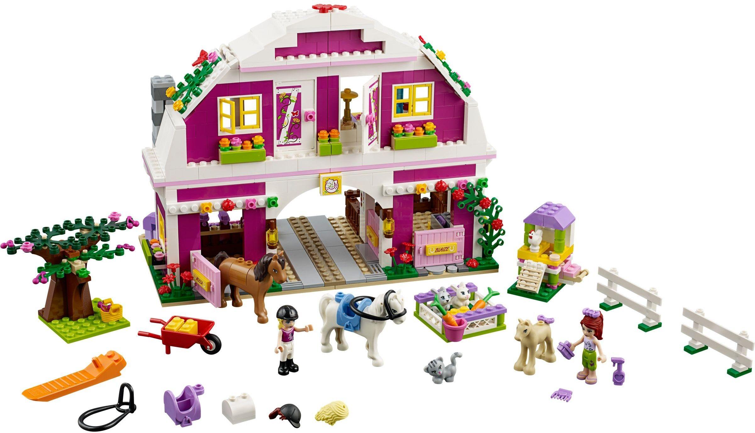 410391 Sunshine Ranch Lego, Animaux et Friends