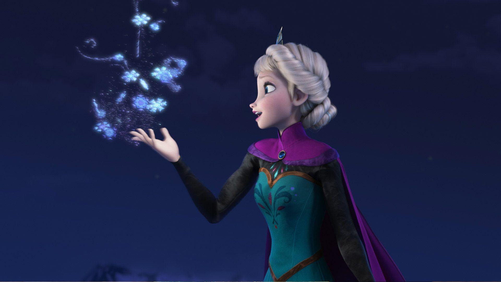 Disney Movie Frozen Character-Queen Elsa