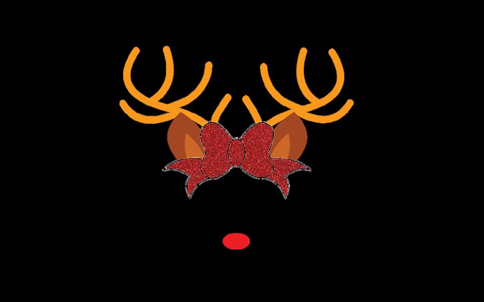 Download Free Reindeer Face SVG | Free SVGs | Free Christmas SVG ...