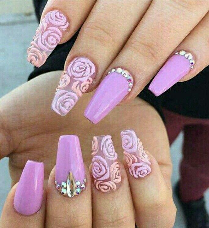 Pin de jessica rodriguez en Uña | Pinterest | Diseños de uñas ...