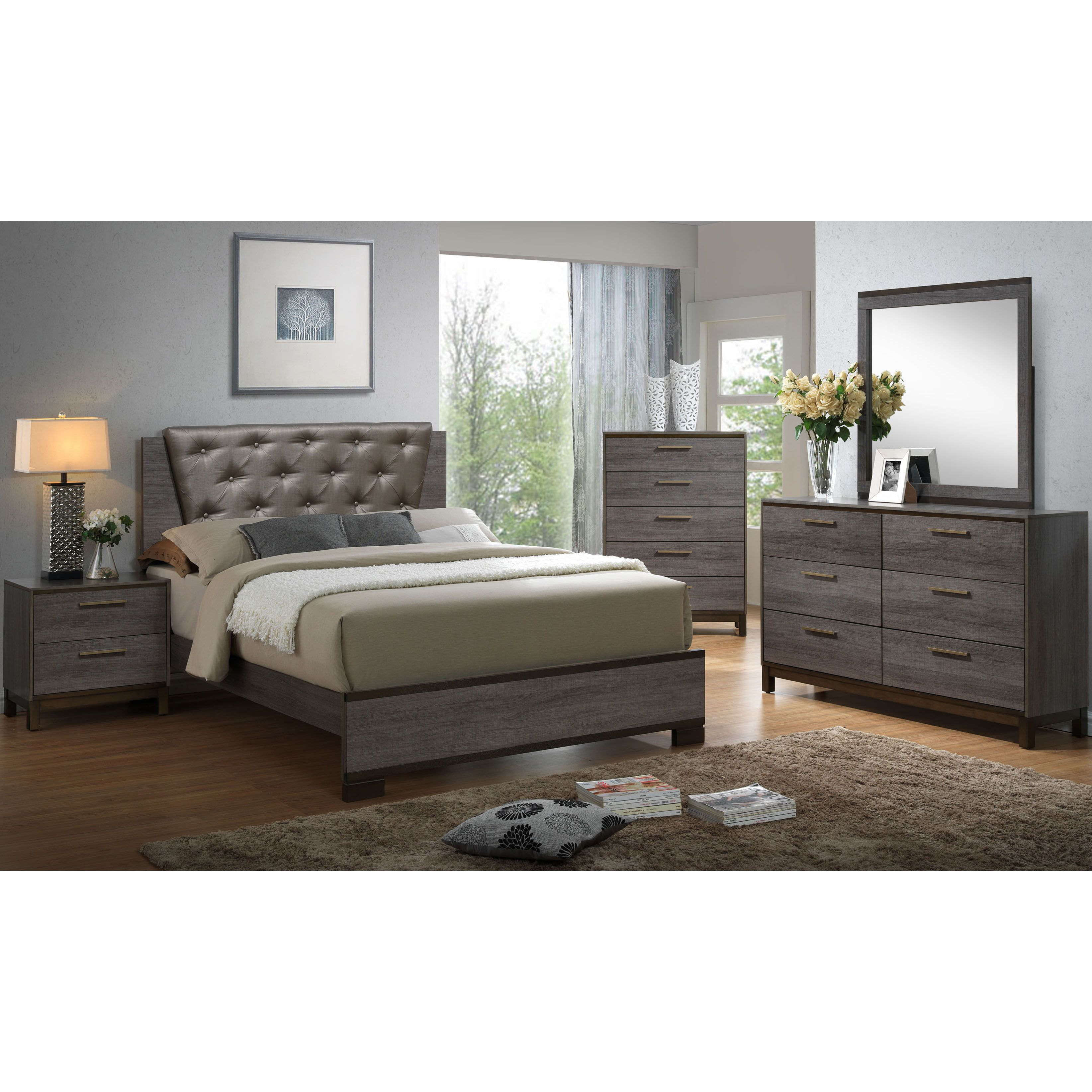 Best Furniture Of America Fika Contemporary 2 Piece Bed W 400 x 300