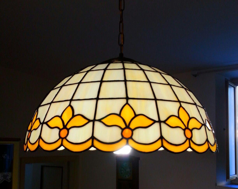Lampadari E Plafoniere Tiffany : Lampadario gigli diametro cm my tiffany style lampadari