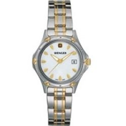Wenger (R) Ladies Standard Issue White Mother-of-Pearl Dial Two Tone - product - Product Review