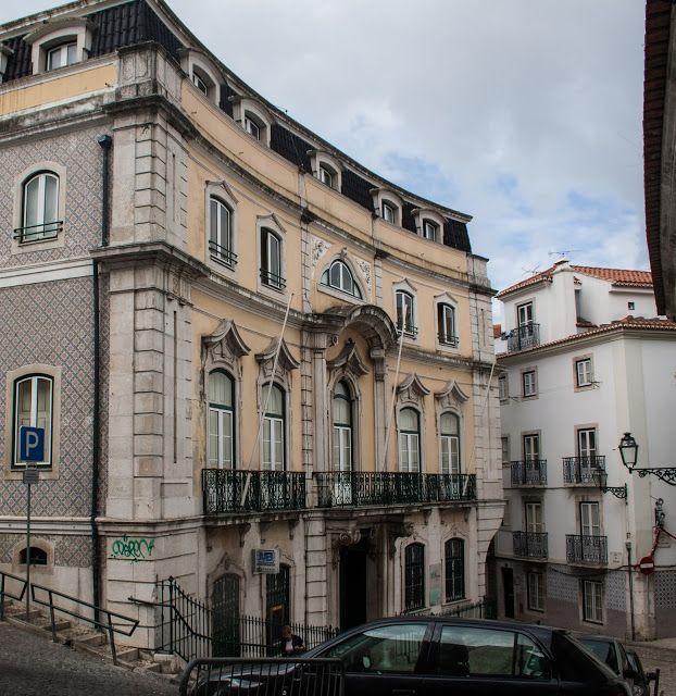 Lisboa Palácio Dos Marqueses De Vagos Antigo Paço De São - Vagos portugal map