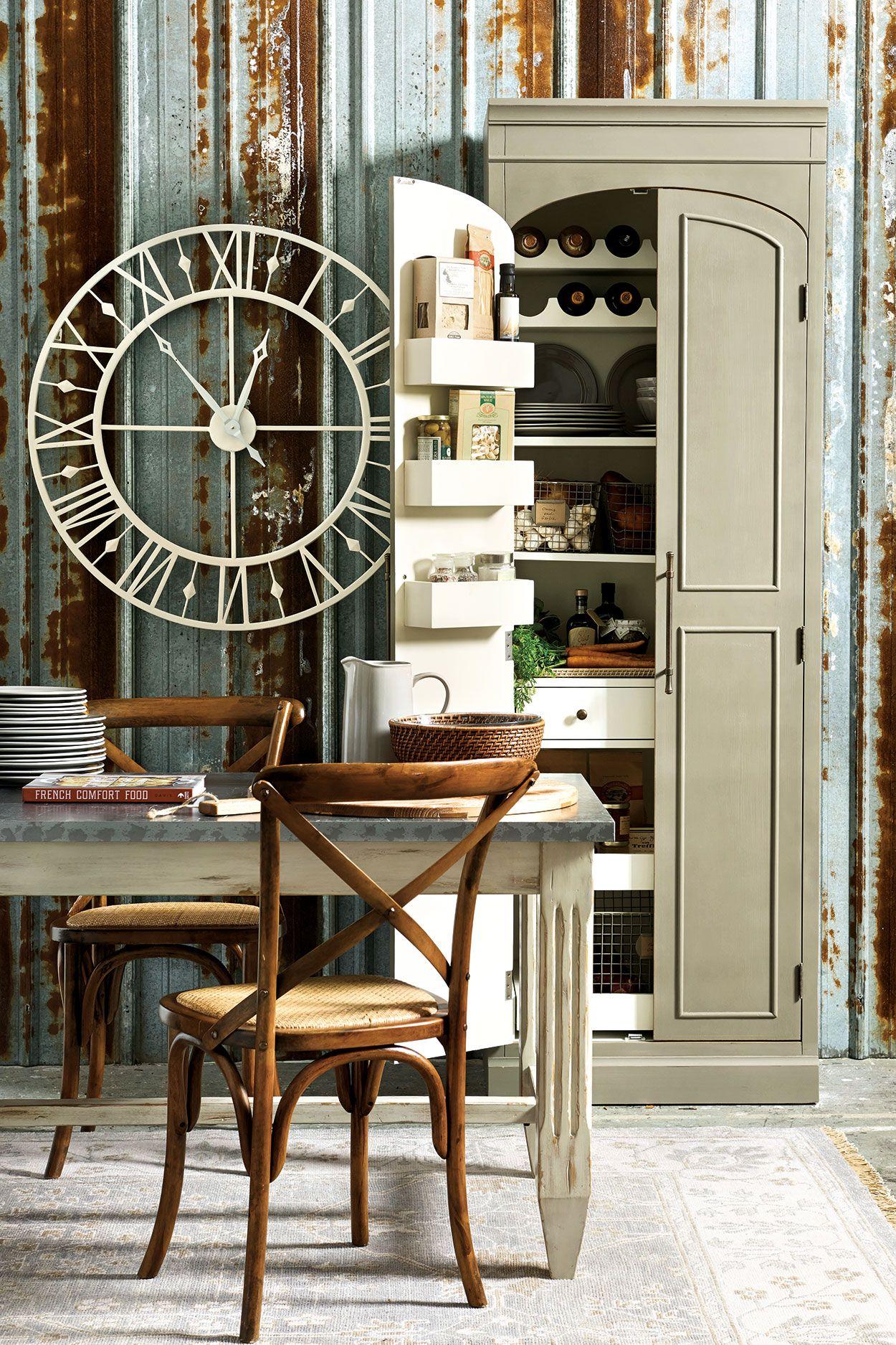 Paulette Kitchen Pantry Ballard Designs Small House Living Ballard Designs Home