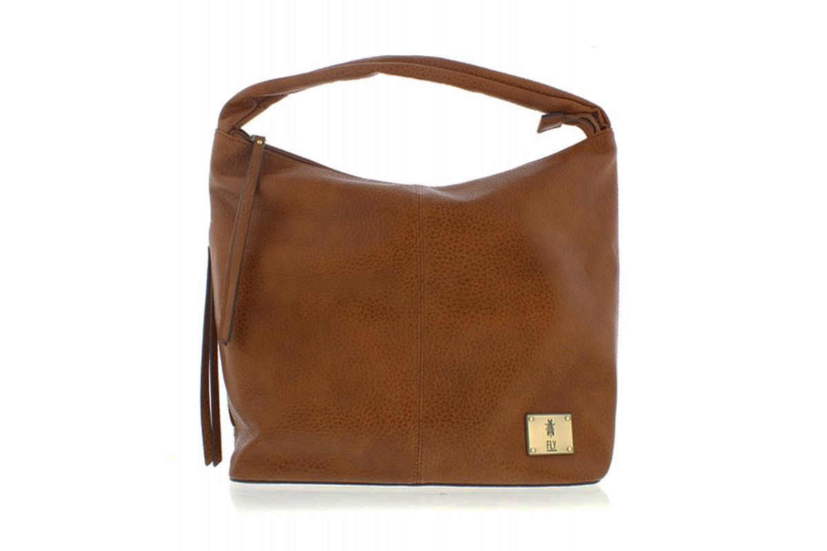 a0de706947c Fly London Zana Camel Tan Slouch Shoulder Bag