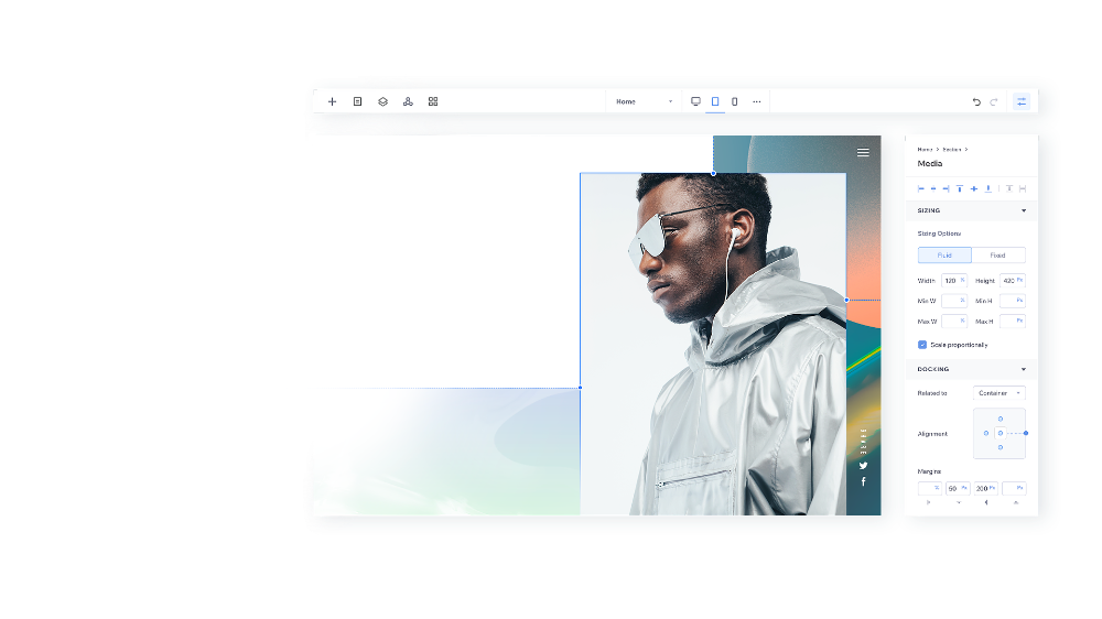 Editor X Create Your Responsive Website Wix Com In 2020 Css Grid Web Creation Website Design