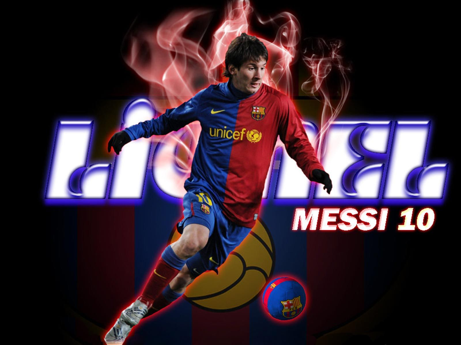 Lionel Messi The Best Player FC Barcelona Football Wallpaper HD