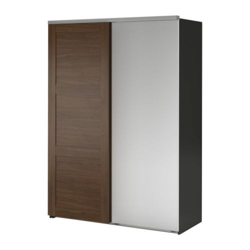 Elg Wardrobe With 2 Sliding Doors Ikea Sliding Doors Require Less Space When Open Than A