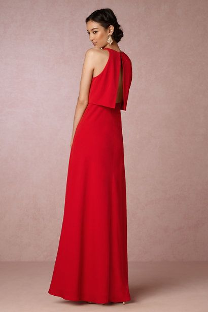 424fff34a7e Apple Red Iva Crepe Maxi