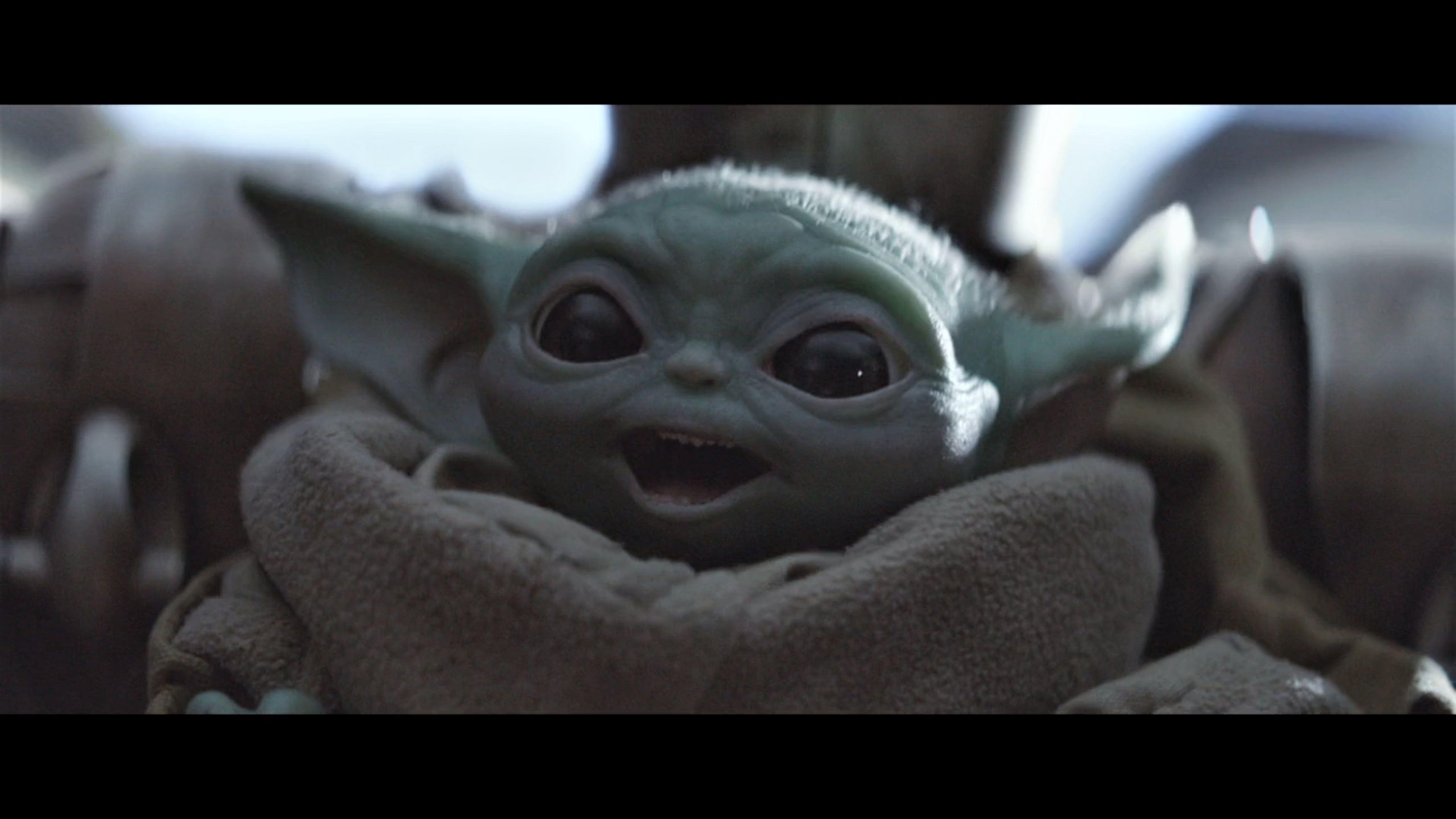 Baby Yoda The Mandalorian 4k Wallpaper Hdwallpaper Desktop In 2020 Yoda Wallpaper Yoda Meme Star Wars Memes