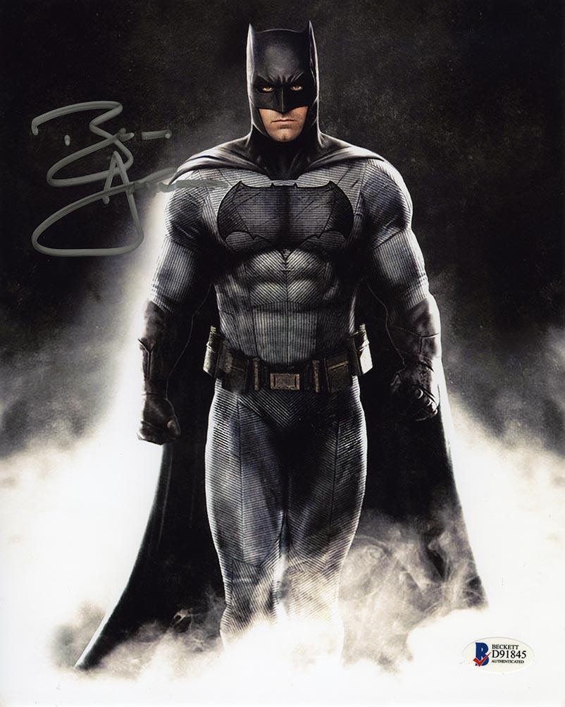 Ben Affleck Batman Vs Superman Signed 8x10 Photo Certified Authentic Beckett Bas Coa In 2021 Batman Ben Affleck Batman Superhero