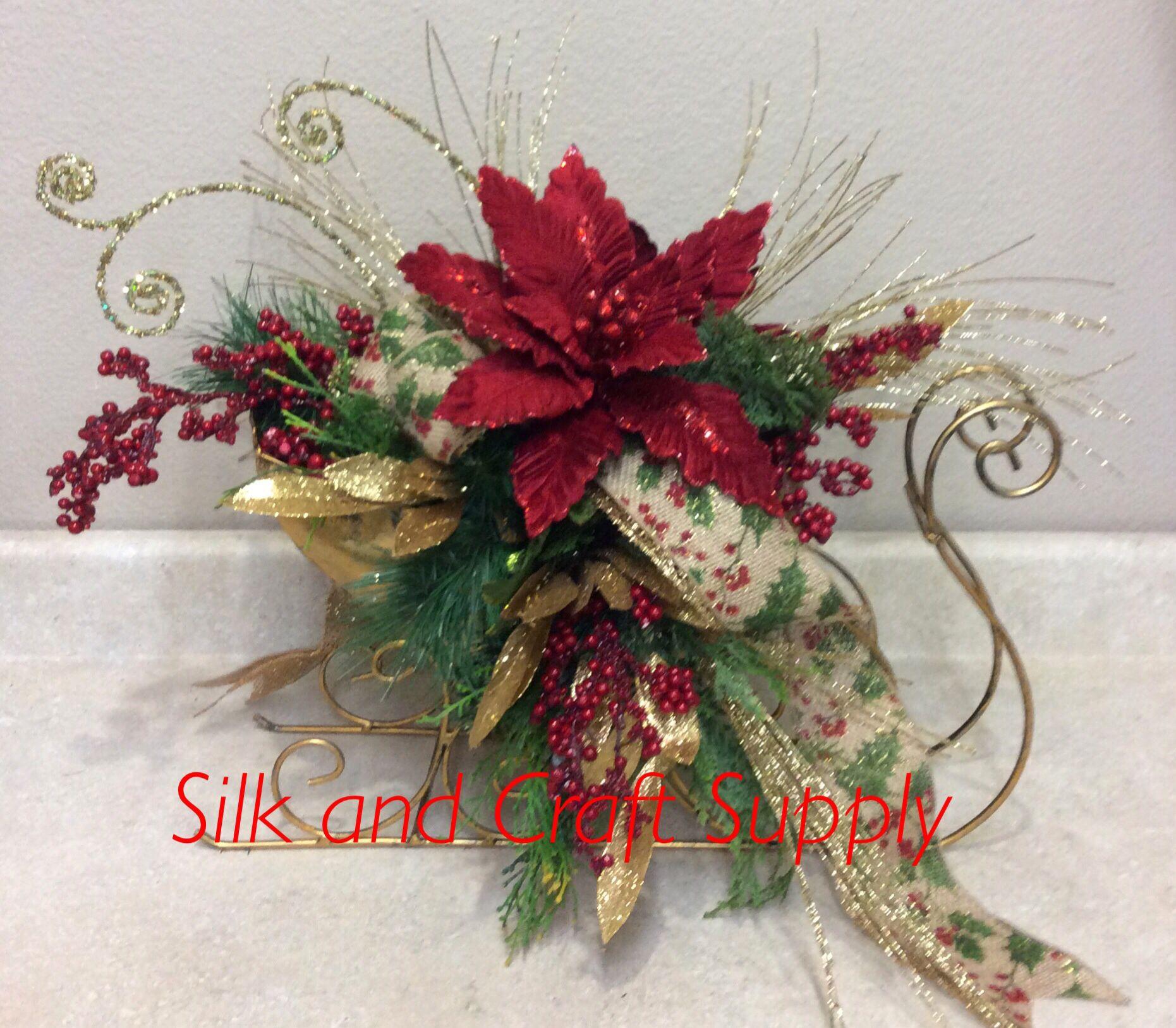 Christmas Tinsel, Christmas Floral