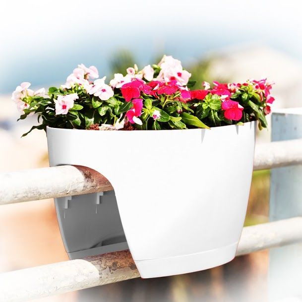 Top3 By Design Greenbo Planter Extra Large White Window Box